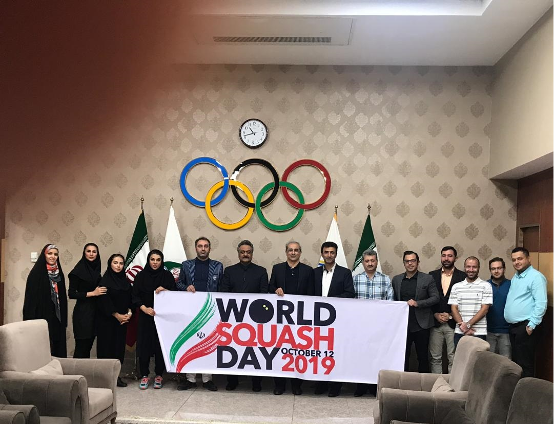 World Squash Day In IRAN
